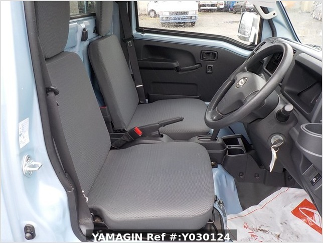 It is a picture of the blue daihatsu hijet truck in 2014,Sub Photo 10 Stock No.Y030124