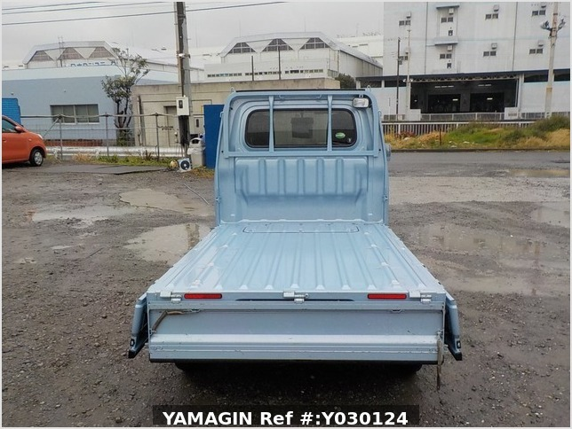 It is a picture of the blue daihatsu hijet truck in 2014,Sub Photo 4 Stock No.Y030124