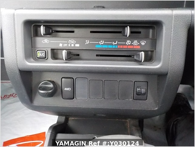 It is a picture of the blue daihatsu hijet truck in 2014,Sub Photo 6 Stock No.Y030124