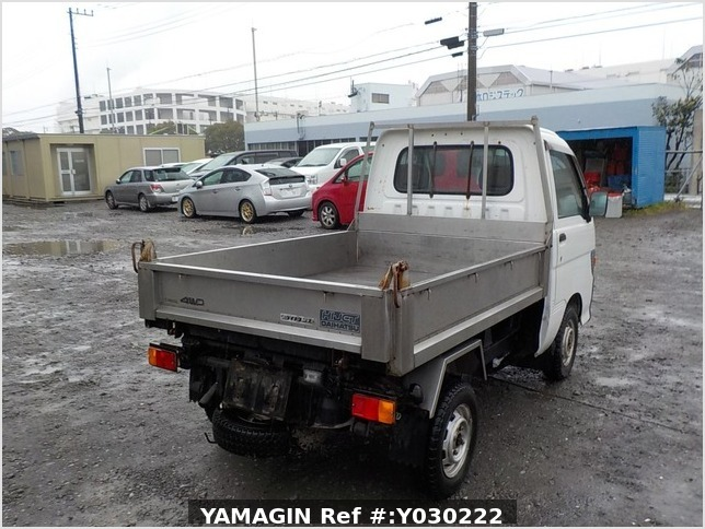 It is a picture of the white daihatsu hijet dump in 1996,Sub Photo 3 Stock No.Y030222