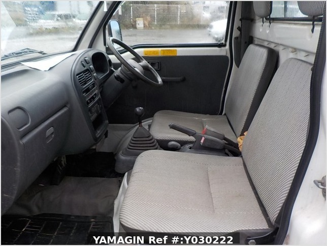 It is a picture of the white daihatsu hijet dump in 1996,Sub Photo 17 Stock No.Y030222