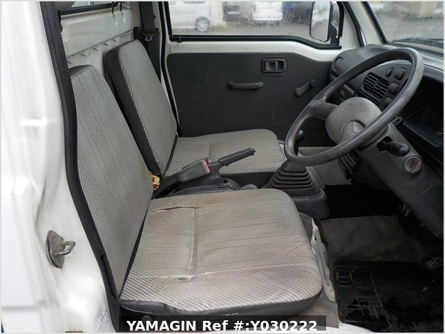 It is a picture of the white daihatsu hijet dump in 1996,Sub Photo 13 Stock No.Y030222