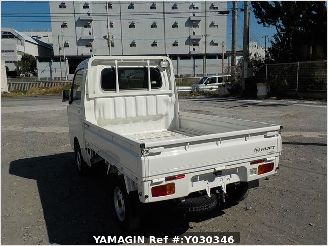 It is a picture of the white daihatsu hijet truck in 2017,Sub Photo 3 Stock No.Y030346