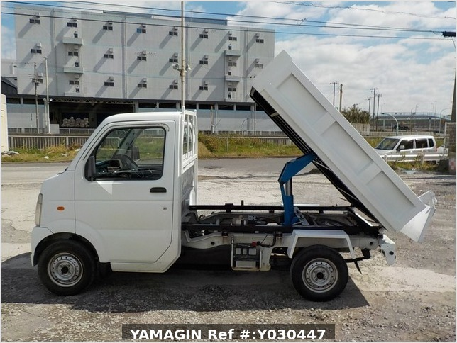 It is a picture of the white suzuki carry dump in 2007,Sub Photo 5 Stock No.Y030447