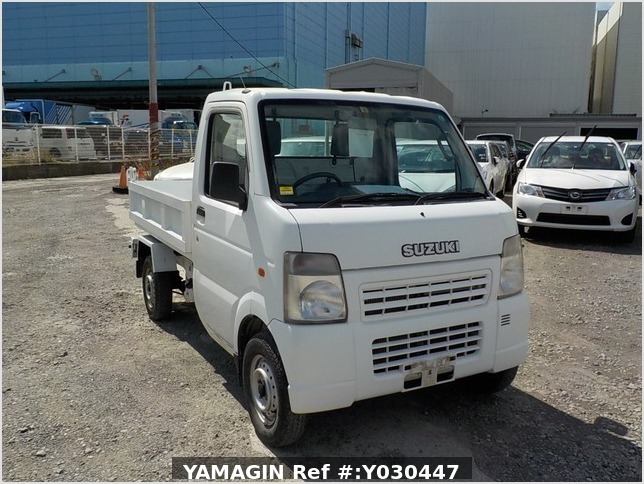 It is a picture of the white suzuki carry dump in 2007,Sub Photo 1 Stock No.Y030447