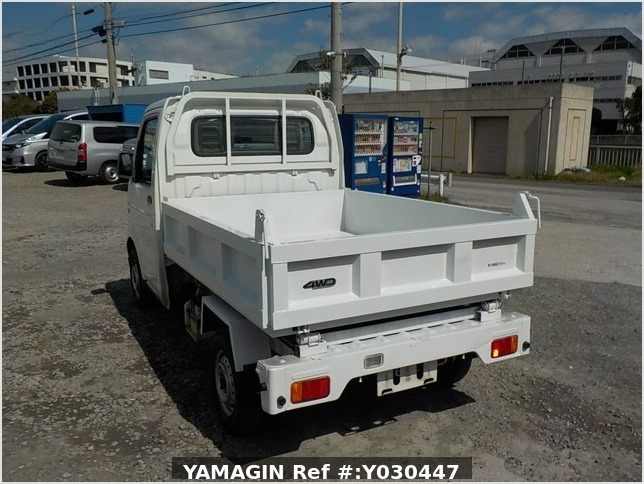 It is a picture of the white suzuki carry dump in 2007,Sub Photo 3 Stock No.Y030447