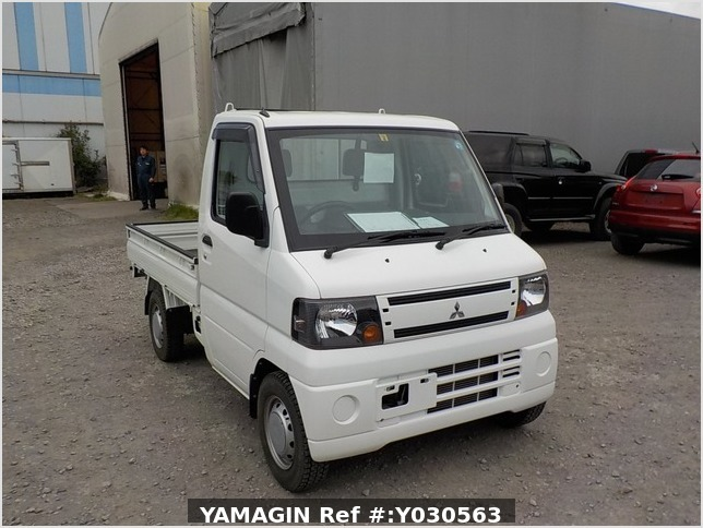 It is a picture of the white mitsubishi minicab dump in 2010,Sub Photo 1 Stock No.Y030563