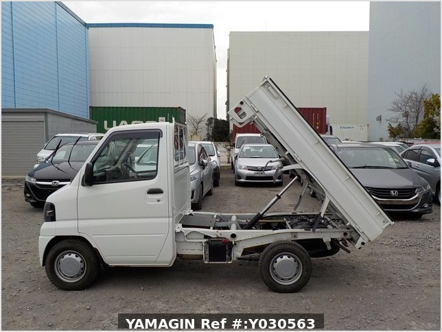 It is a picture of the white mitsubishi minicab dump in 2010,Sub Photo 6 Stock No.Y030563