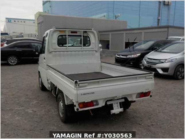 It is a picture of the white mitsubishi minicab dump in 2010,Sub Photo 4 Stock No.Y030563