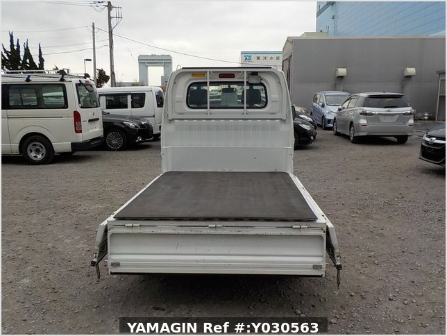 It is a picture of the white mitsubishi minicab dump in 2010,Sub Photo 5 Stock No.Y030563