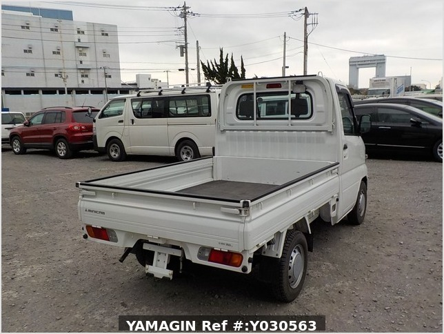 It is a picture of the white mitsubishi minicab dump in 2010,Sub Photo 3 Stock No.Y030563