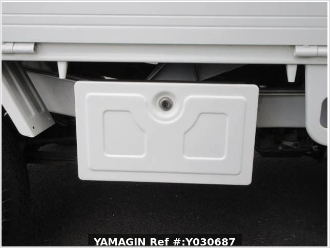 It is a picture of the white mitsubishi minicab truck in 2010,Sub Photo 25 Stock No.Y030687