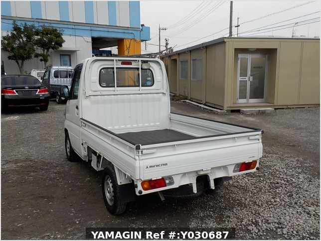 It is a picture of the white mitsubishi minicab truck in 2010,Sub Photo 10 Stock No.Y030687