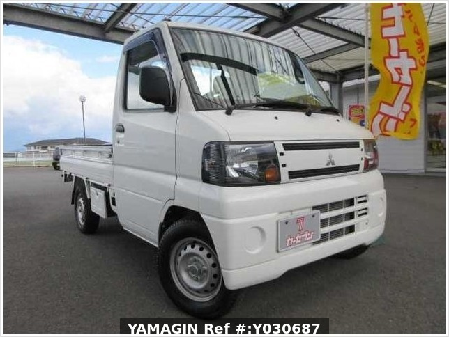 It is a picture of the white mitsubishi minicab truck in 2010,Sub Photo 12 Stock No.Y030687
