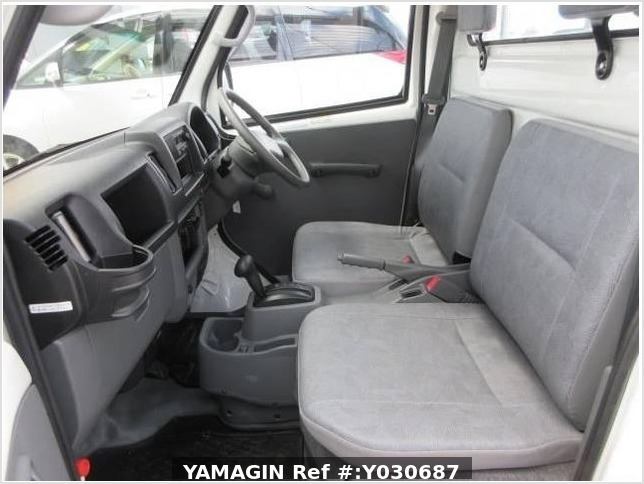 It is a picture of the white mitsubishi minicab truck in 2010,Sub Photo 19 Stock No.Y030687
