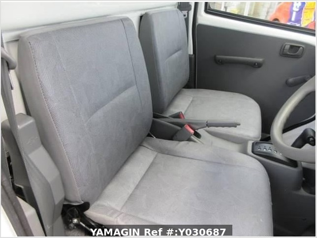 It is a picture of the white mitsubishi minicab truck in 2010,Sub Photo 18 Stock No.Y030687