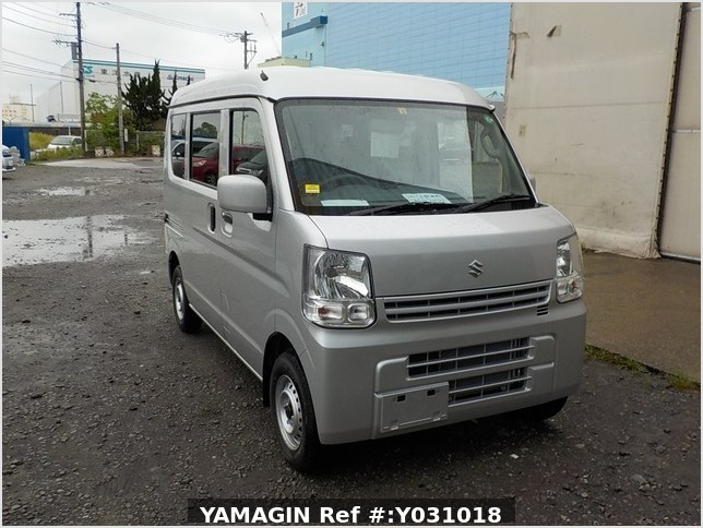 It is a picture of the silver suzuki every passenger van in 2020,Sub Photo 0 Stock No.Y031018