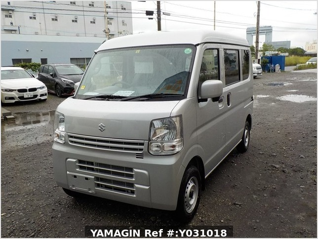 It is a picture of the silver suzuki every passenger van in 2020,Sub Photo 1 Stock No.Y031018