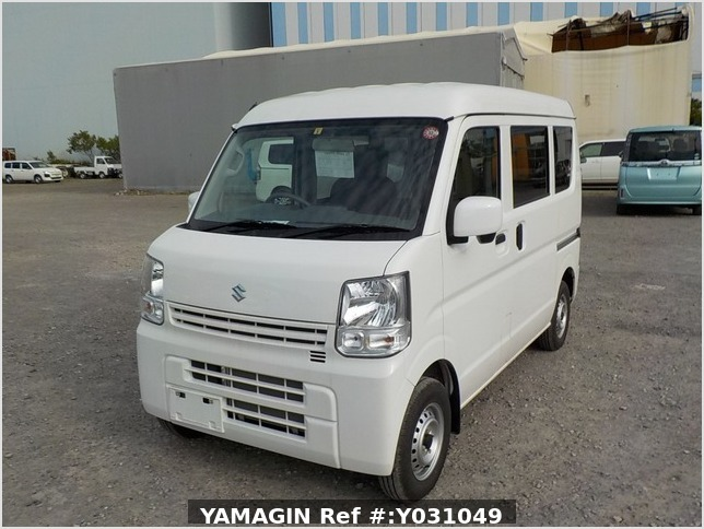 It is a picture of the white suzuki every passenger van in 2019,Sub Photo 1 Stock No.Y031049