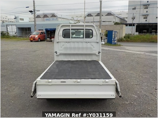 It is a picture of the white suzuki carry truck in 2008,Sub Photo 4 Stock No.Y031159