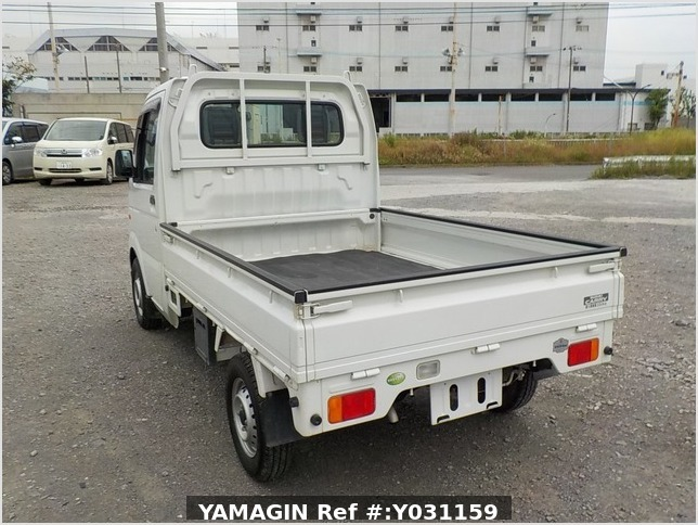 It is a picture of the white suzuki carry truck in 2008,Sub Photo 3 Stock No.Y031159