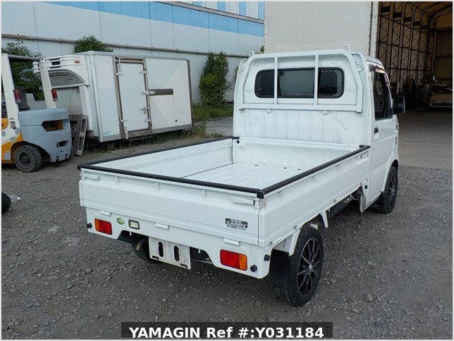 It is a picture of the white suzuki carry truck in 2008,Sub Photo 2 Stock No.Y031184