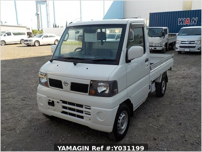 It is a picture of the white nissan clipper truck in 2003,Sub Photo 1 Stock No.Y031199