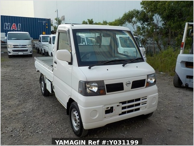It is a picture of the white nissan clipper truck in 2003,Sub Photo 0 Stock No.Y031199