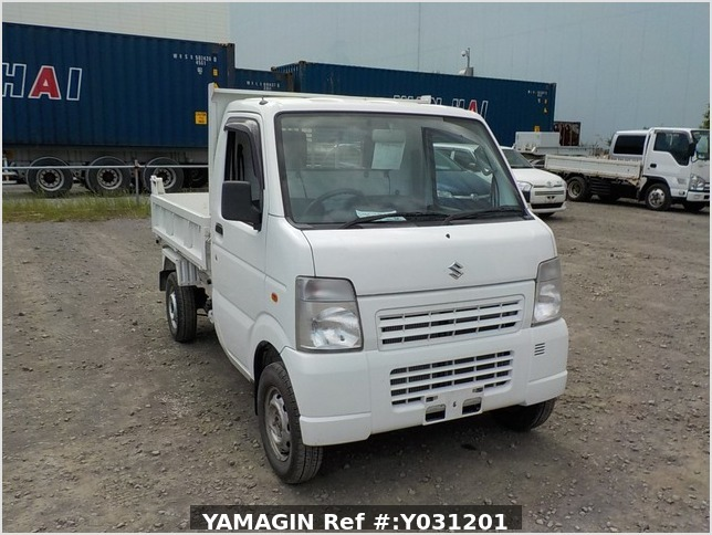 It is a picture of the white suzuki carry dump in 2010,Sub Photo 1 Stock No.Y031201