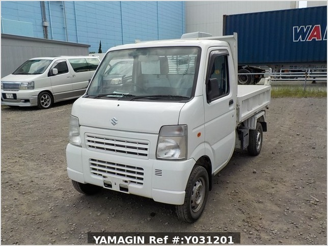 It is a picture of the white suzuki carry dump in 2010,Sub Photo 2 Stock No.Y031201