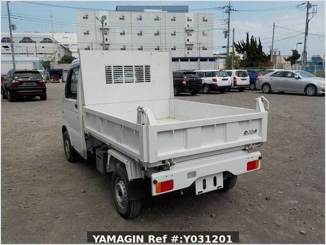 It is a picture of the white suzuki carry dump in 2010,Sub Photo 4 Stock No.Y031201