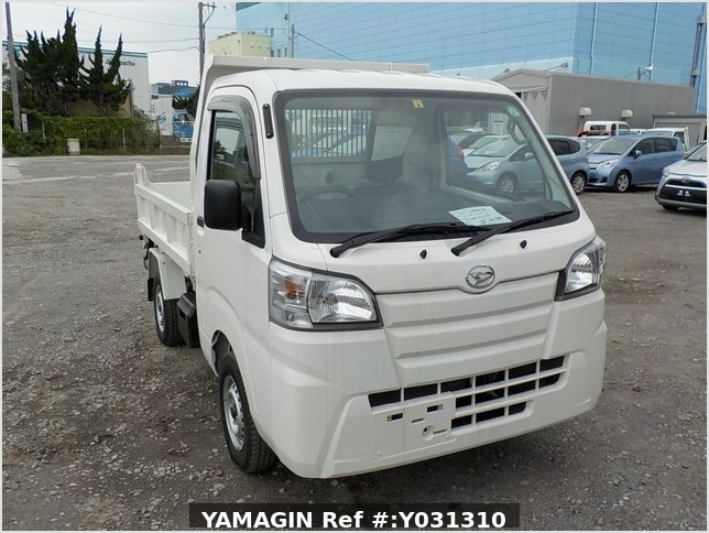 It is a picture of the white daihatsu hijet dump in 2020,Sub Photo 1 Stock No.Y031310