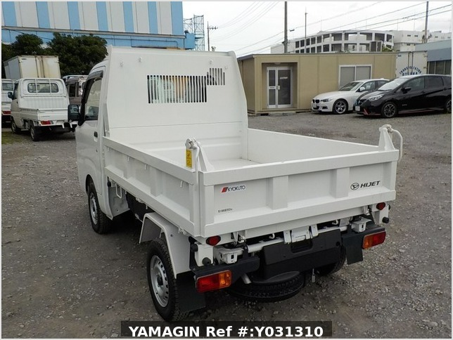 It is a picture of the white daihatsu hijet dump in 2020,Sub Photo 3 Stock No.Y031310