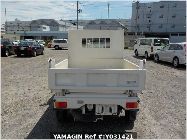 It is a picture of the white suzuki carry dump in 2014,Sub Photo 5 Stock No.Y031421
