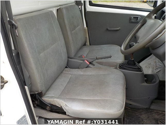 It is a picture of the white mitsubishi minicab dump in 2006,Sub Photo 13 Stock No.Y031441