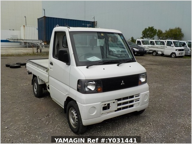 It is a picture of the white mitsubishi minicab dump in 2006,Sub Photo 1 Stock No.Y031441