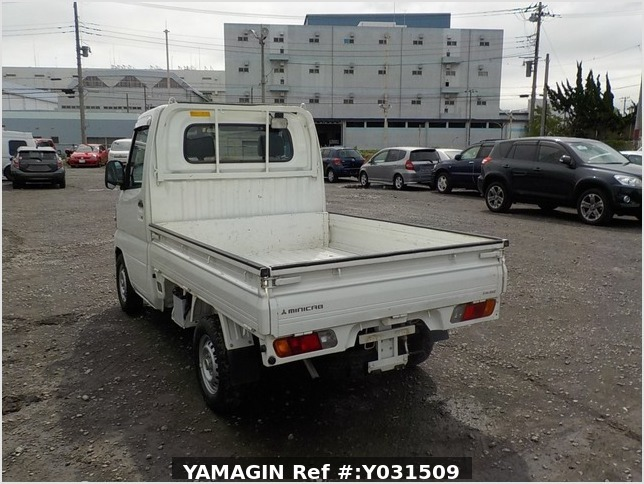 It is a picture of the white mitsubishi minicab dump in 2008,Sub Photo 3 Stock No.Y031509