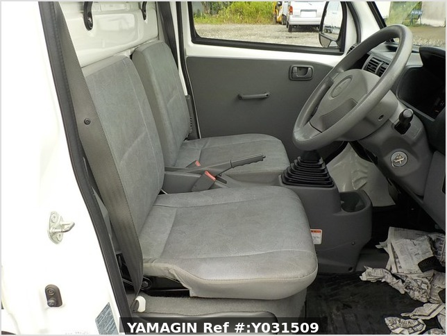 It is a picture of the white mitsubishi minicab dump in 2008,Sub Photo 12 Stock No.Y031509