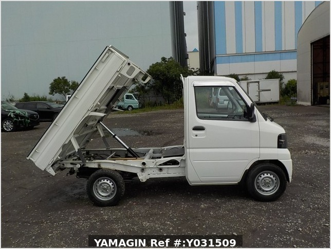 It is a picture of the white mitsubishi minicab dump in 2008,Sub Photo 0 Stock No.Y031509