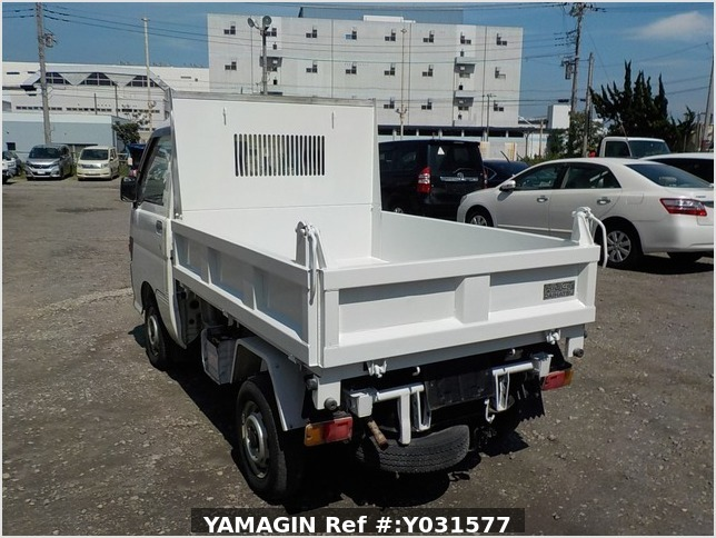 It is a picture of the white daihatsu hijet dump in 1998,Sub Photo 3 Stock No.Y031577