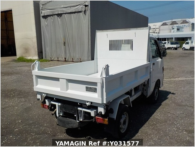 It is a picture of the white daihatsu hijet dump in 1998,Sub Photo 4 Stock No.Y031577