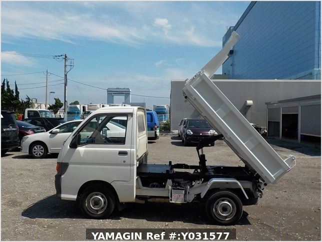It is a picture of the white daihatsu hijet dump in 1998,Sub Photo 5 Stock No.Y031577