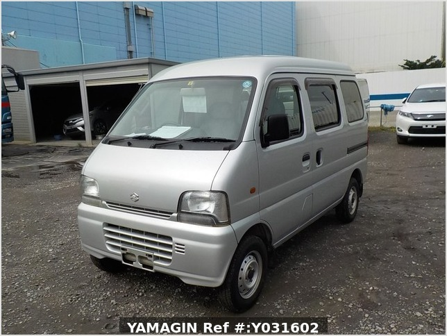 It is a picture of the silver suzuki every passenger van in 2004,Sub Photo 1 Stock No.Y031602