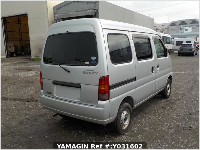 It is a picture of the silver suzuki every passenger van in 2004,Sub Photo 2 Stock No.Y031602
