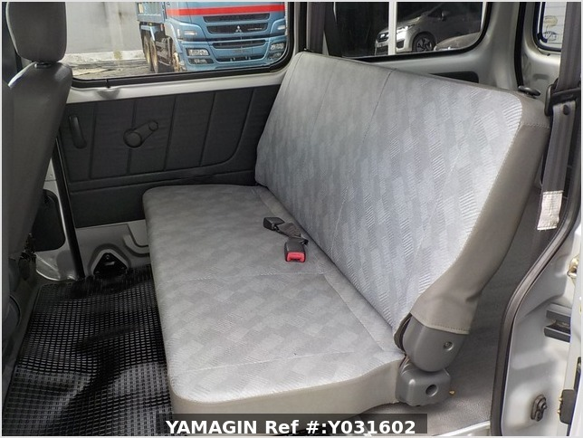 It is a picture of the silver suzuki every passenger van in 2004,Sub Photo 8 Stock No.Y031602