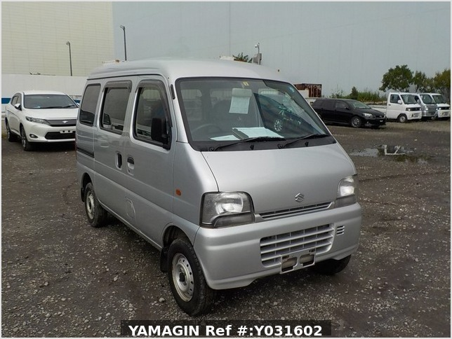 It is a picture of the silver suzuki every passenger van in 2004,Sub Photo 0 Stock No.Y031602