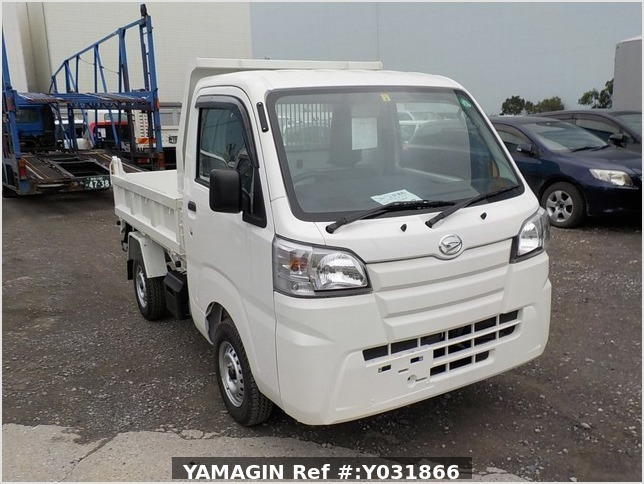 It is a picture of the white daihatsu hijet dump in 2020,Sub Photo 1 Stock No.Y031866