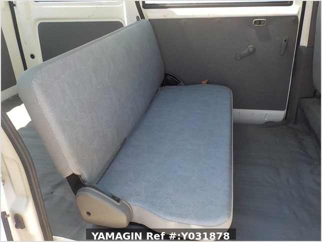 It is a picture of the white mitsubishi minicab passenger van in 2004,Sub Photo 10 Stock No.Y031878