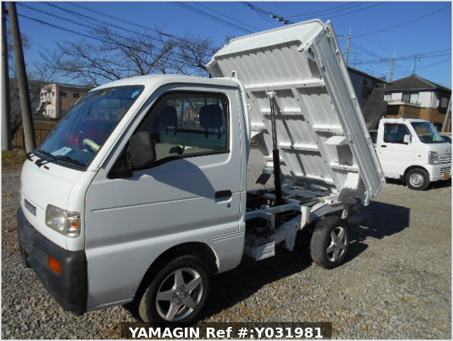 It is a picture of the white suzuki carry dump in 1996,Sub Photo 7 Stock No.Y031981
