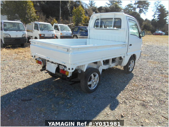It is a picture of the white suzuki carry dump in 1996,Sub Photo 2 Stock No.Y031981